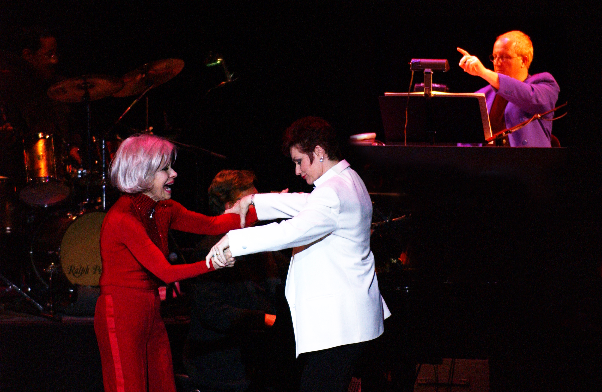 "Carol Channing & Toni Morrell star in ""RAZZLE DAZZLE"" with Musical Director David Dial"