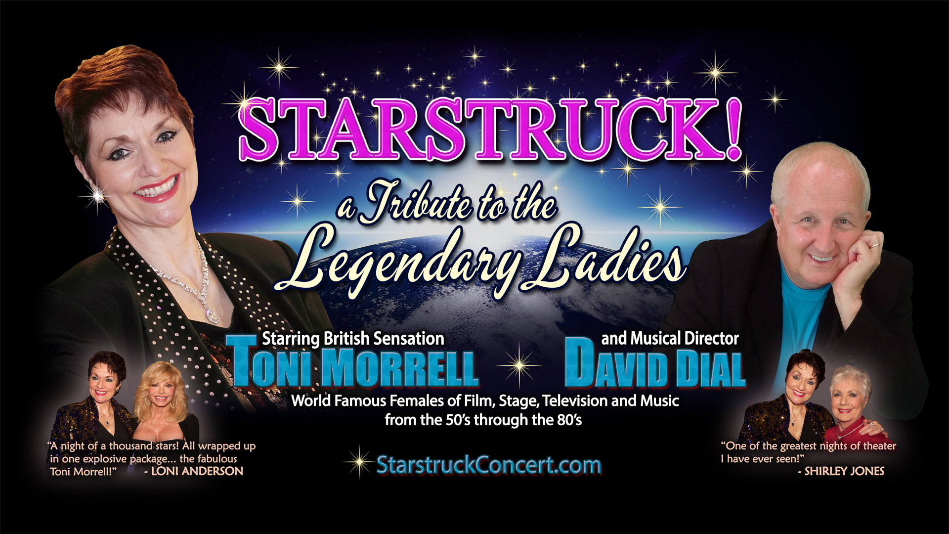 STARSTRUCK! A Tribute to the Legendary Ladies